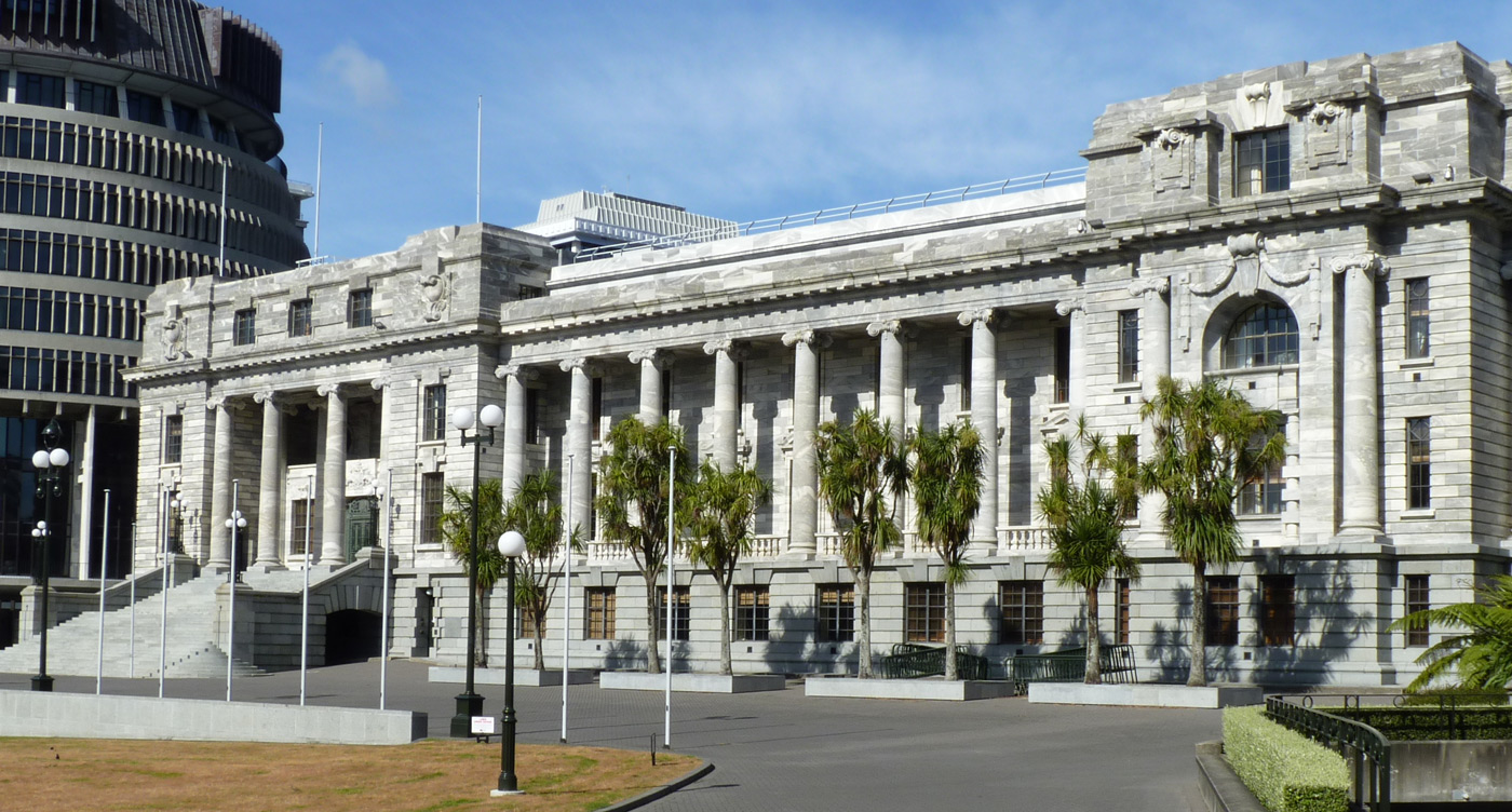 Parliament House - Molesworth Street