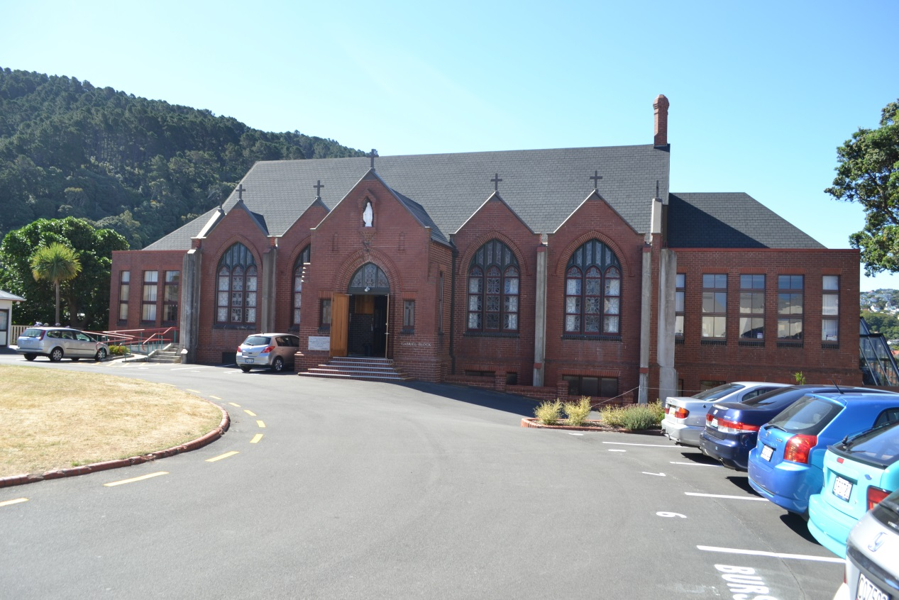 St Mary's College Main Building (Image: Charles Collins, 2015)
