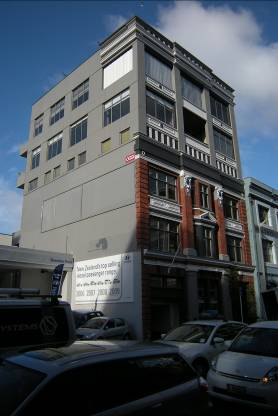 The former NZ Acetylene Gas Lighting Co  building - Wellington